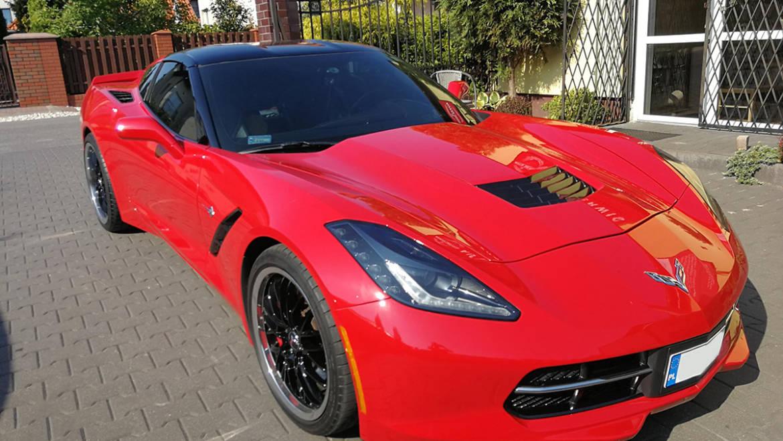 Wymiana opon w Chevrolet Corvette