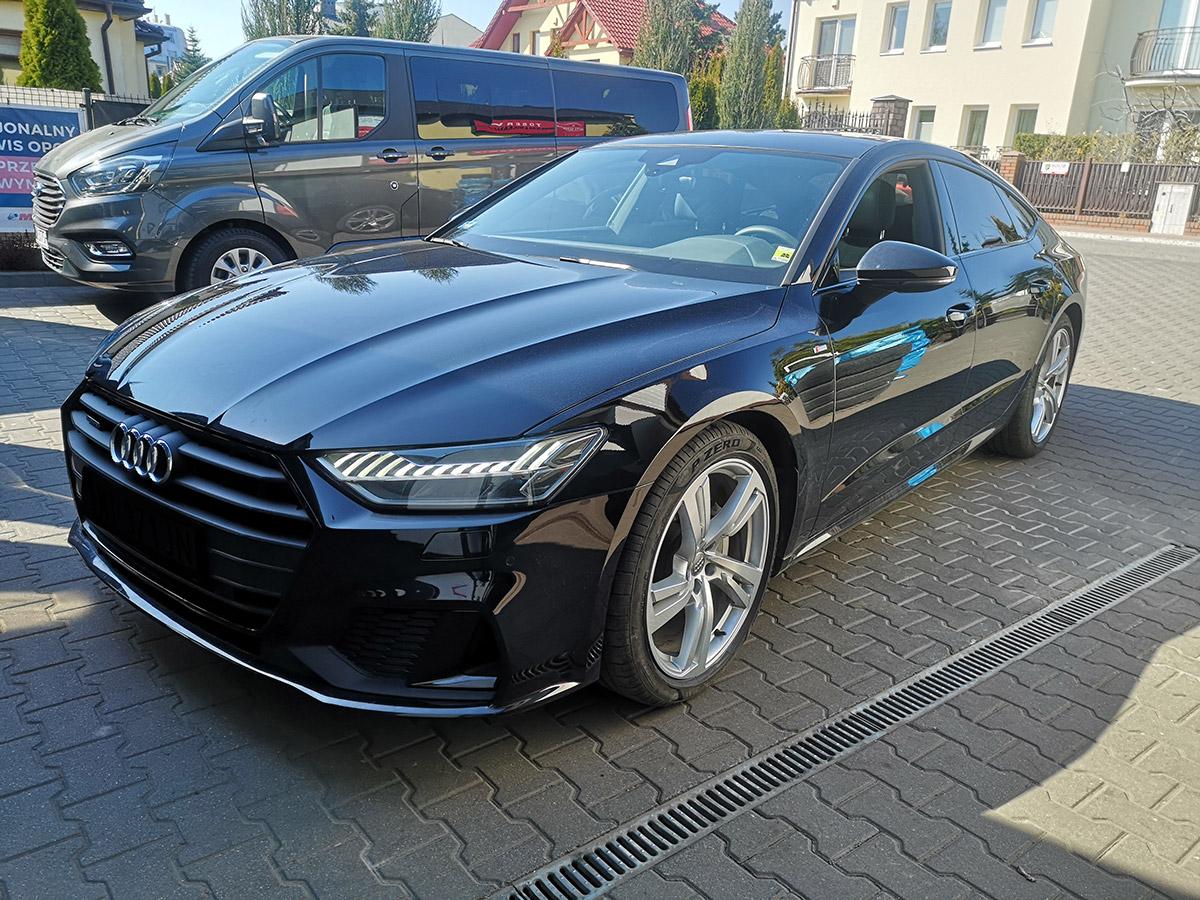 Wymiana opon w Audi A7